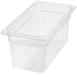 Insert 1/3 Size 6″ Deep, Polycarbonate