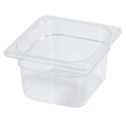 Insert 1/6 Size 4″ Deep, Polycarbonate