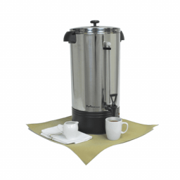 Coffee Urn, 100 Cup, Stainless Steel