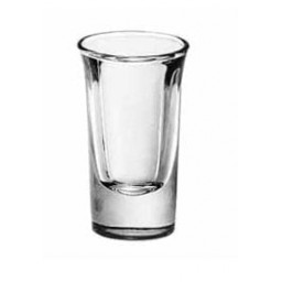 Shot Glass, Tall Whiskey 1 oz.
