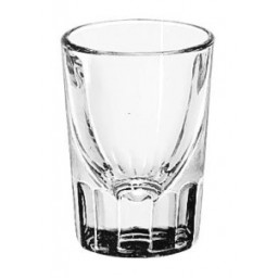 Shot Glass, Fluted Whiskey, 2 oz.