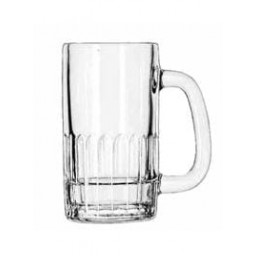Glass Beer Mug 12 oz.