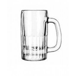 Glass Beer Mug 10 oz.