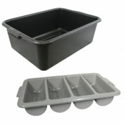 Bus tubs, Bus boxes, Flatware bins & Trays