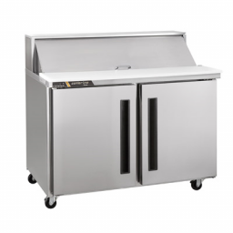 Refrigerated Prep Table, 60″ Wide., Double Door, Traulsen Centerline CLPT-6024-SD-LR