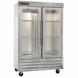 Refrigeration, 43.13 cu. ft., Double Glass Door, Reach-In – Traulsen Centerline CLBM-49R-FG-LR
