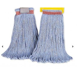 Wet Mop Head, 16 oz., Blue