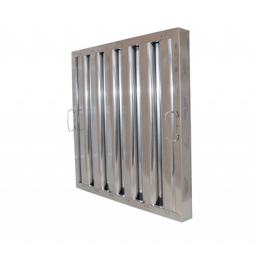 Exhaust Hood Filter, 20 x 20, Stainless Steel