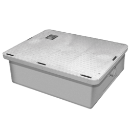 Grease Interceptor 25 Gallon Grease Trap, Low Profile- Endura