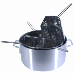 Pasta Pot /Combination 20qt. Aluminum