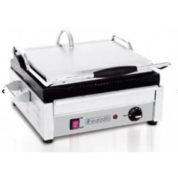 Panini Grill / Sandwich, Single- 120V Ribbed Top & Bottom
