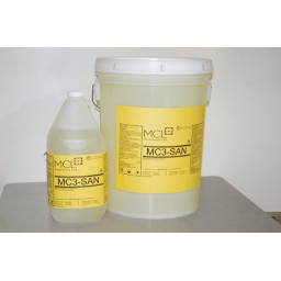 MC3 San Liquid Sanitizer, Destainer 20 L Pail