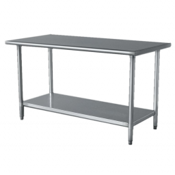 Work Table, Stainless & Galvanized Steel
