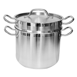 `Double Boiler – 16 qt, Stainless Steel