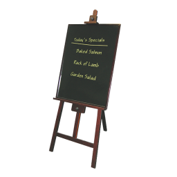 Easel for Write-on Boards
