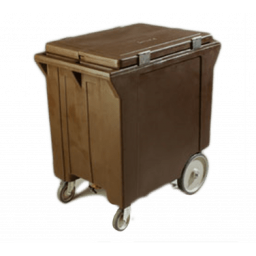 Mobile Ice Caddy, 200 lbs., Brown, Cateraide