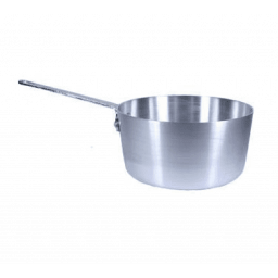 Tapered Sauce Pan / Pot, Aluminum