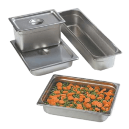 Stainless Steel Food Pans & Lids