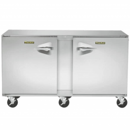 Freezer, Under Counter, 60″, Double (2) Door Reach-In, Traulsen UHT60-LR-SB