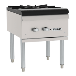 Stock Pot Gas Range – Vulcan VSP100