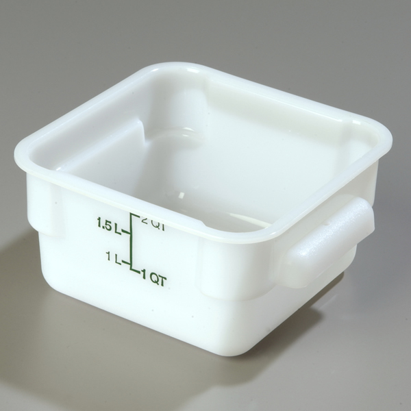 StorPlus Square Polyethylene Food Storage Containers MCL Hospitality